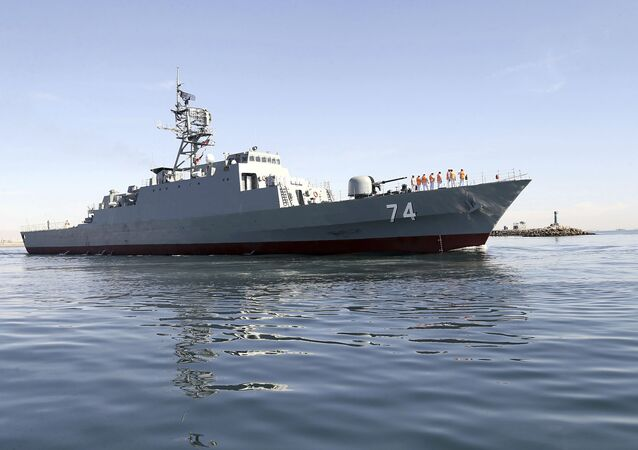 Najbardziej zaawansowany irański niszczyciel Sahand
