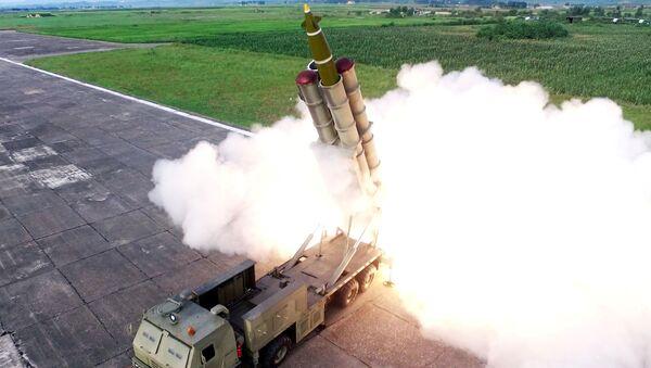 Testy rakietowe KRLD  - Sputnik Polska
