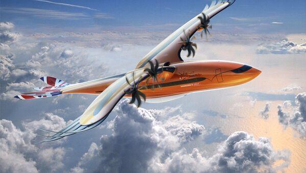 Projekt samolotu Bird of Prey firmy Airbus - Sputnik Polska