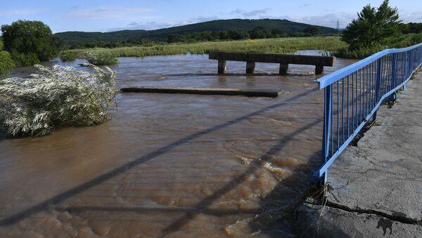 Powódź w Kraju Nadmorskim - Sputnik Polska
