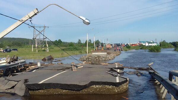 Powódź na Syberii - Sputnik Polska