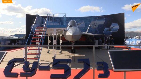 Najnowszy myśliwiec piątej generacji Su-57  - Sputnik Polska