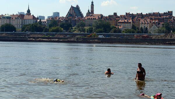 Rzeka Wisła w Warszawie - Sputnik Polska