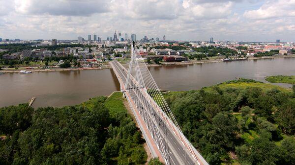 Warszawa, widok na Wisłę - Sputnik Polska