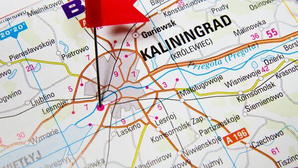 Kaliningrad na mapie - Sputnik Polska