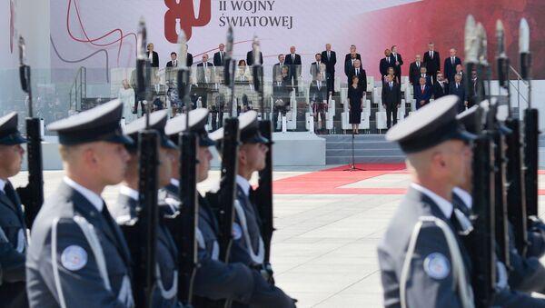 Uroczystości z okazji 80. rocznicy wybuchu II wojny światowej w Warszawie - Sputnik Polska