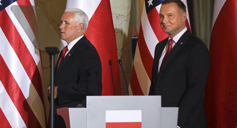 Wiceprezydent USA Mike Pence z wizytą w Polsce