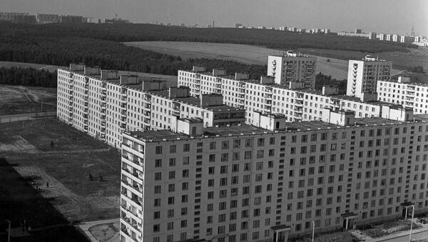 Dzielnica Czertanowo Północne w Moskwie - Sputnik Polska