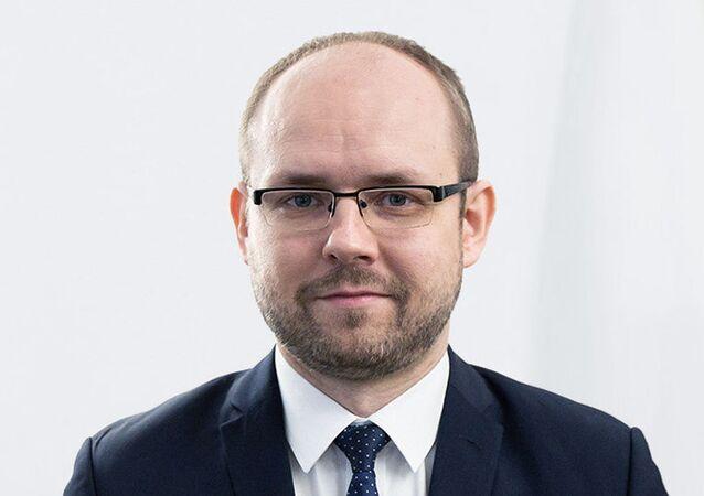 Wiceminister spraw zagranicznych Polski Marcin Przydacz