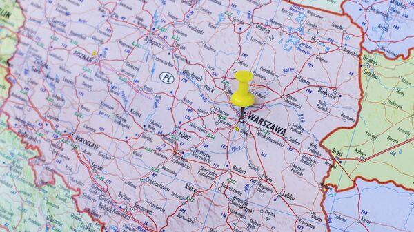 Mapa Polski - Sputnik Polska