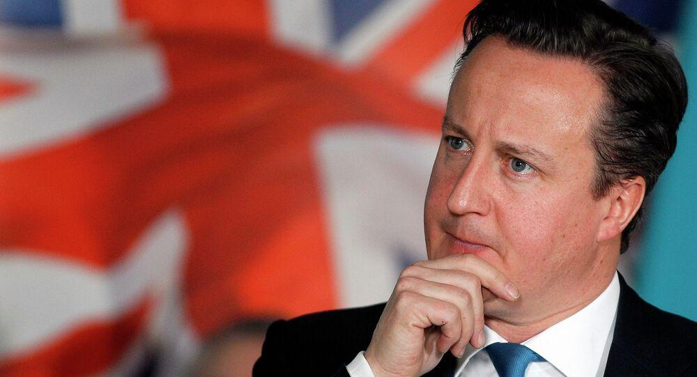 Premier Wielkiej Brytanii David Cameron