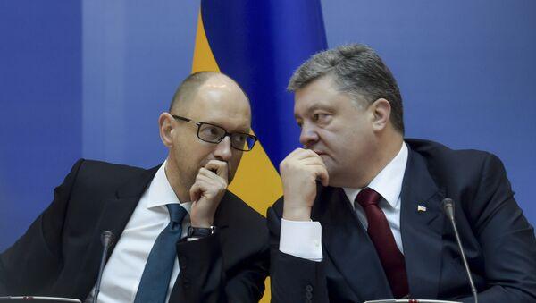 Posiedzenie Rady ministrów Ukrainy - Sputnik Polska