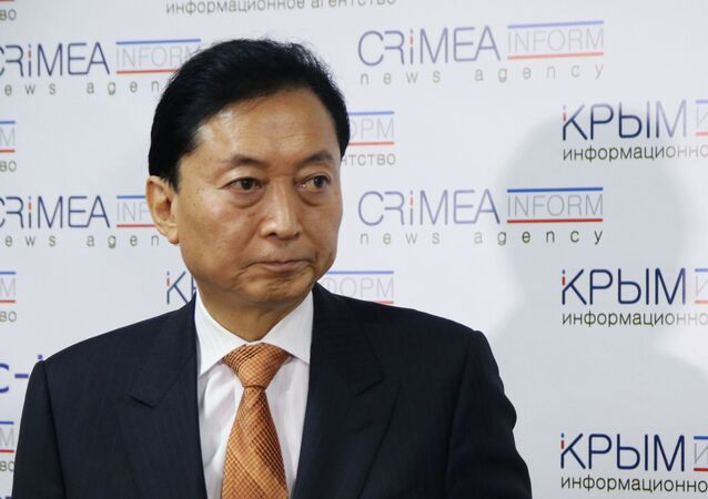 Były premier Japonii Yukio Hatoyama