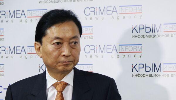 Były premier Japonii Yukio Hatoyama - Sputnik Polska