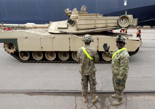 Amerykańskie czołgi Abrams