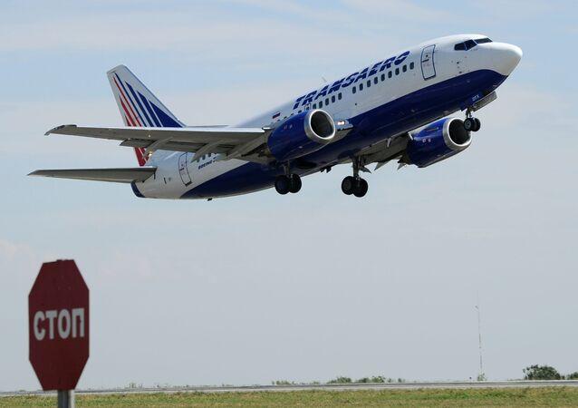 Samolot liniii Transaero
