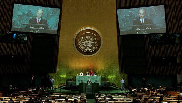Przemówienie Władimira Putina na 60. sesji Zgromadzenia Ogólnego ONZ - Sputnik Polska