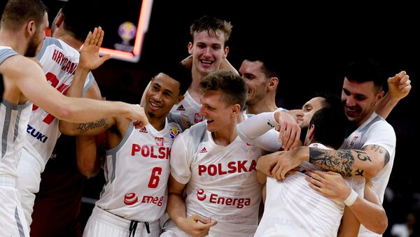 Mistrzostwa Świata w koszykówce. Mecz Polska-Rosja  - Sputnik Polska