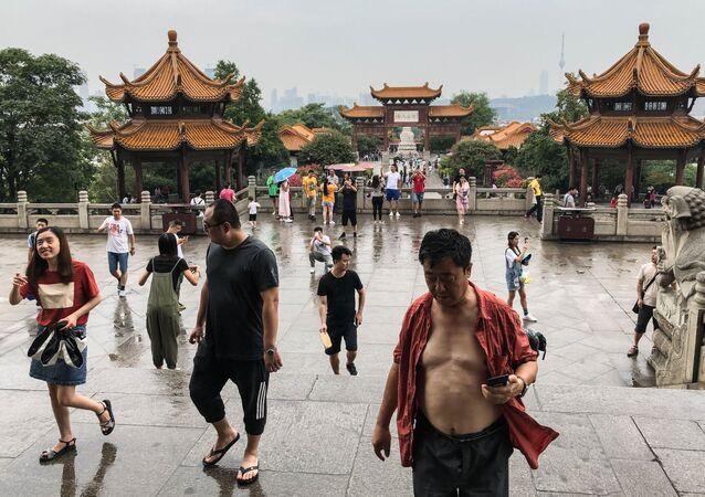 Turyści w Chinach
