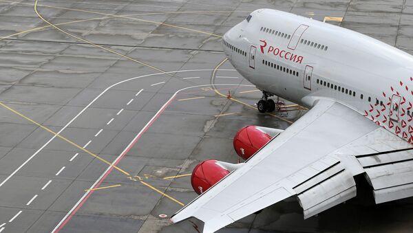 Pas startowy na lotnisku Wnukowo - Sputnik Polska