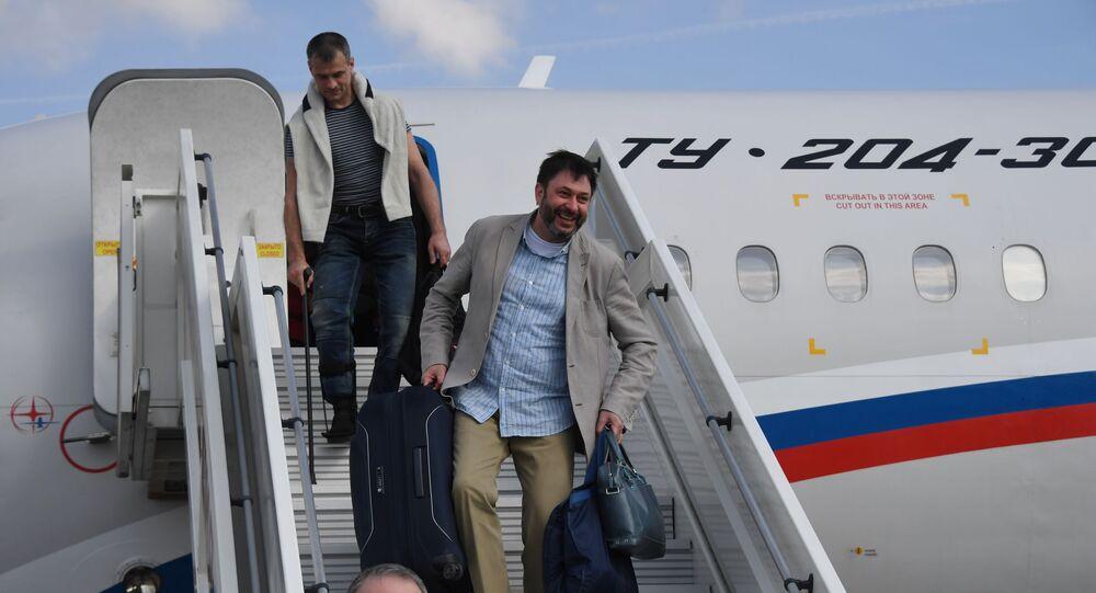Kirił Wyszynski w Moskwie