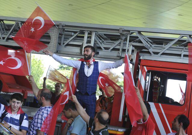 Turcy w Stambule