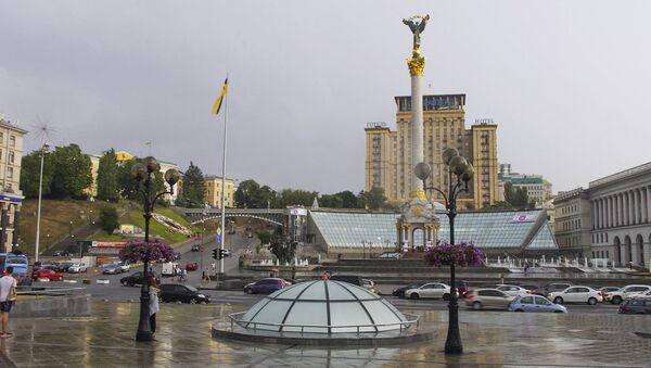 Plac Niepodległości w centrum Kijowa - Sputnik Polska