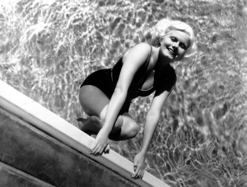 Symbol seksu z lat 30. Jean Harlow.