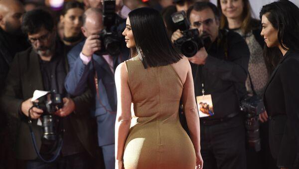 """Kim Kardashian na premierze filmu """"Obietnica"""" w Los Angeles - Sputnik Polska"""