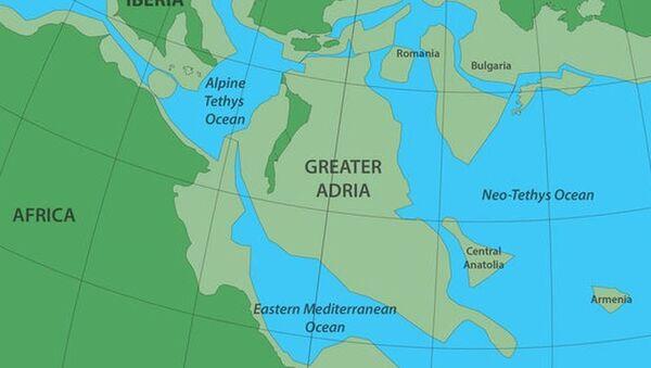 Starożytny kontynent Wielka Adria - Sputnik Polska