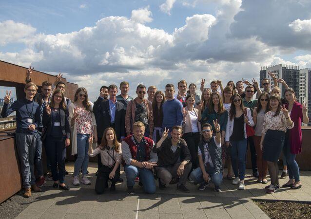 Uczestnicy Trójstronnego forum w Europejskim Centrum Solidarności w Gdańsku