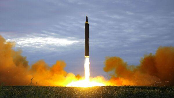 Próba wystrzelenia rakiet balistycznych w Korei Północnej - Sputnik Polska