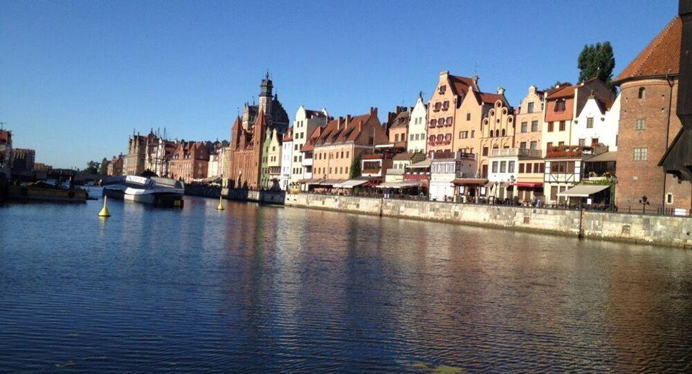 Widok na Motławę, Gdańsk