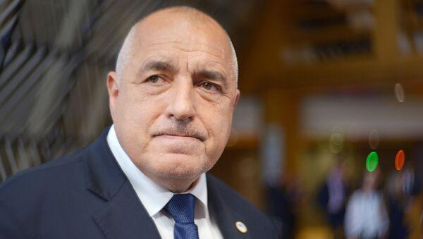 Premier Bułgarii Bojko Borisow - Sputnik Polska