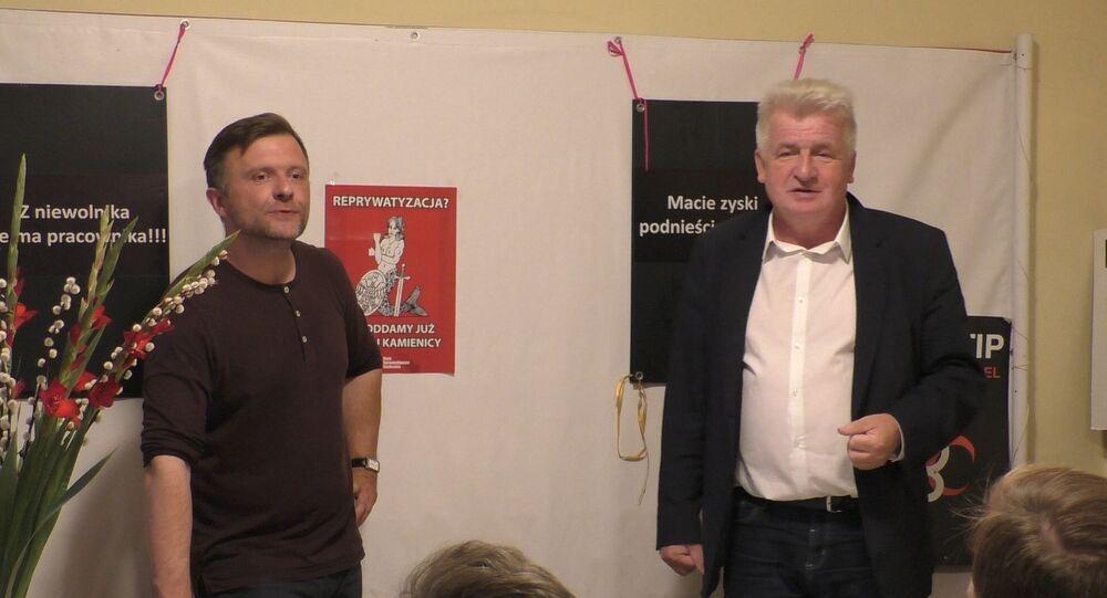 Mateusz Piskorski i Piotr Ikonowicz