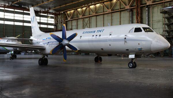 Samolot Ił-114 - Sputnik Polska