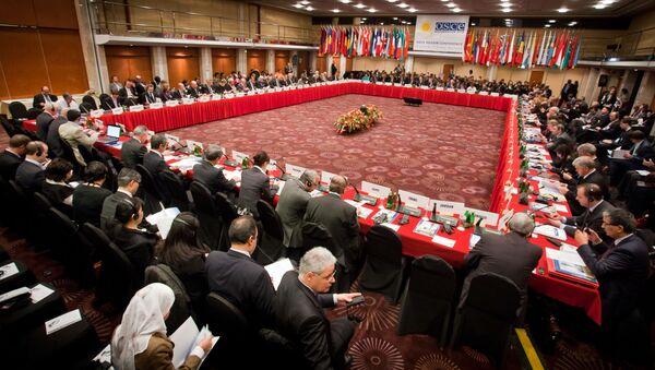 Spotkanie delegatów OBWE w Polsce - Sputnik Polska