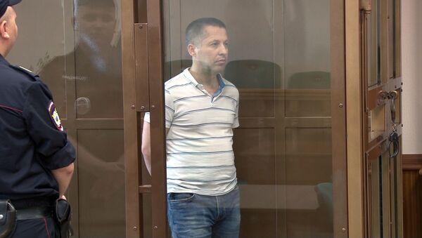 Obywatel Polski Marian Radzajewski podczas orzeczenia wyroku w Moskiewskim Sądzie Miejskim - Sputnik Polska