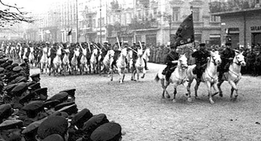 Radziecka kawaleria we Lwowie, 1939 rok