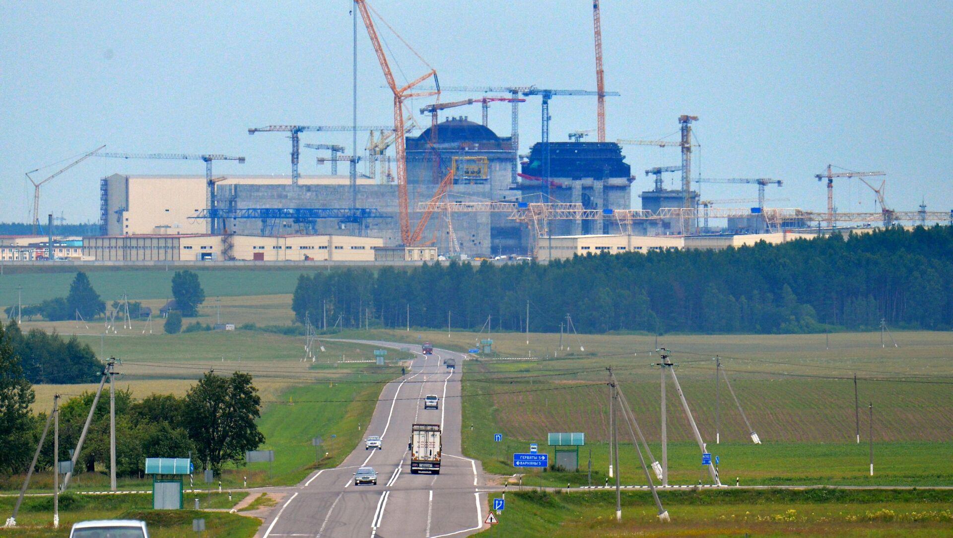 Białoruska elektrownia jądrowa powstająca 18 km od miasta Ostrowiec - Sputnik Polska, 1920, 23.03.2021