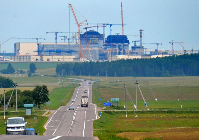 Białoruska elektrownia jądrowa powstająca 18 km od miasta Ostrowiec