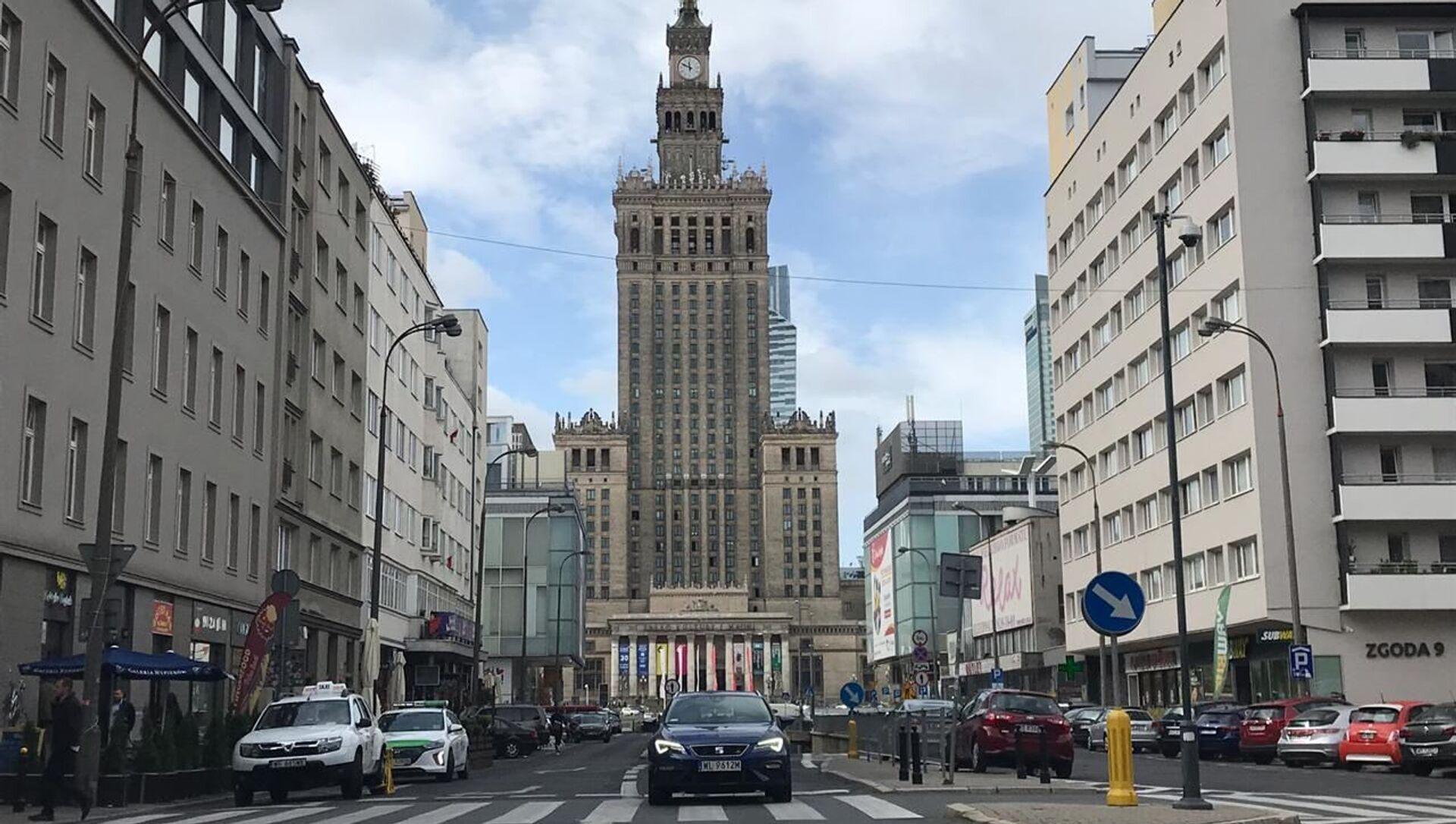 Pałac Kultury i Nauki w Warszawie - Sputnik Polska, 1920, 01.06.2021