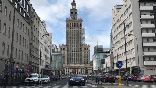 Pałac Kultury i Nauki w Warszawie - Sputnik Polska