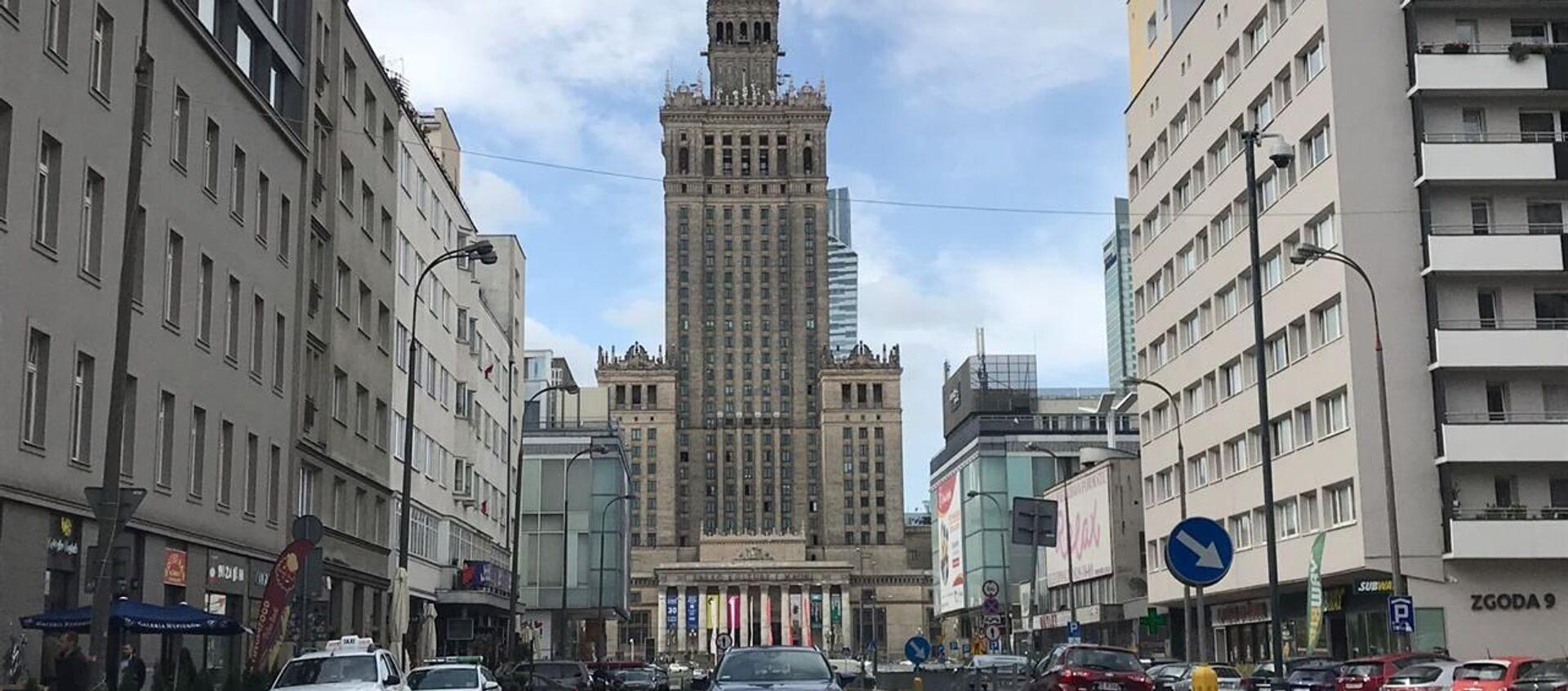 Pałac Kultury i Nauki w Warszawie - Sputnik Polska, 1920, 08.02.2020