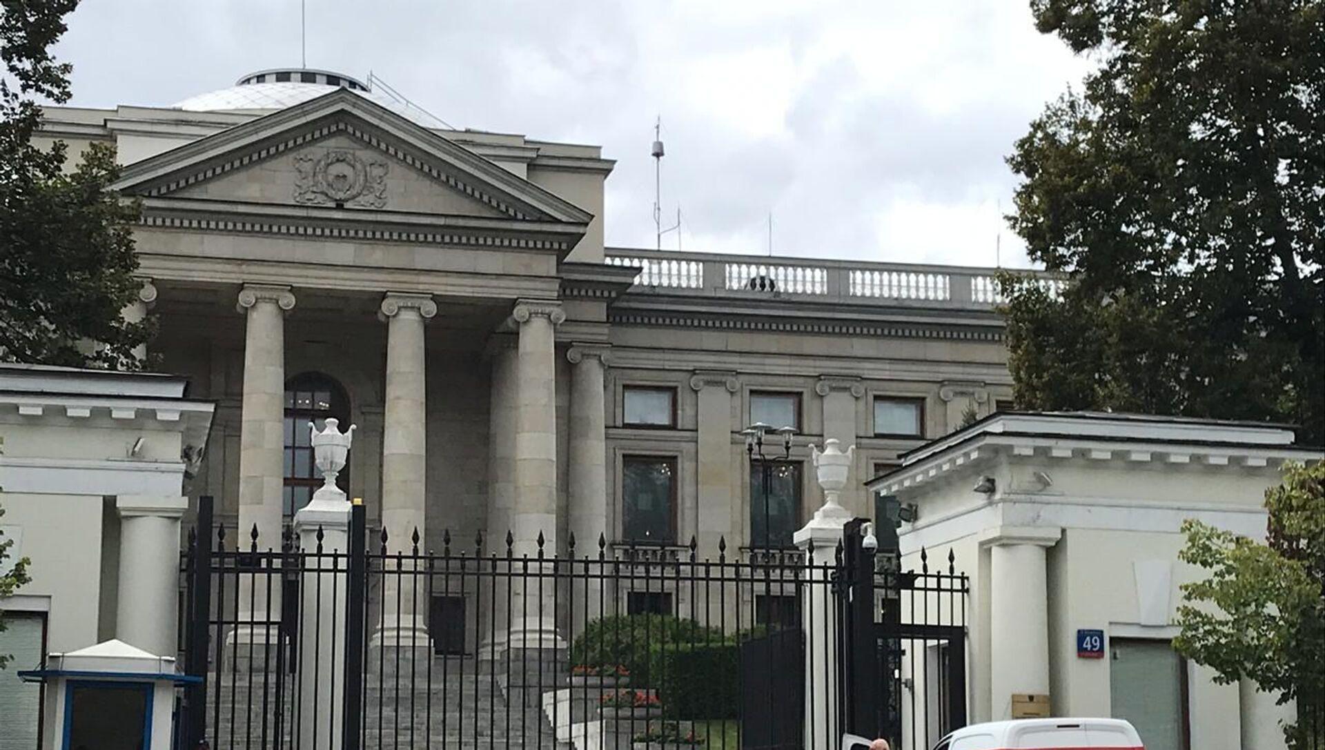 Ambasada Rosji w Warszawie - Sputnik Polska, 1920, 21.04.2021
