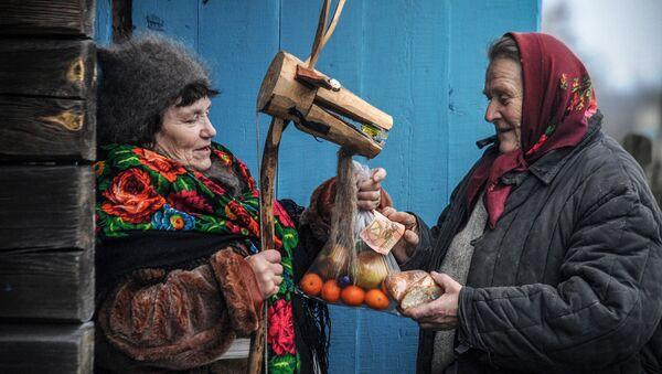 Mieszkanki białoruskiej wsi - Sputnik Polska