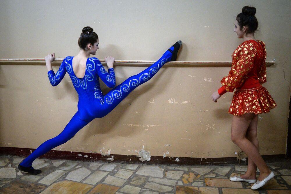 Akrobatki w Nowosybirsku