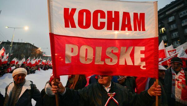 Marsz w Warszawie z okazji 100. rocznicy odzyskania niepodległości - Sputnik Polska