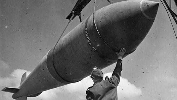 """Brytyjska bomba """"Tallboy - Sputnik Polska"""