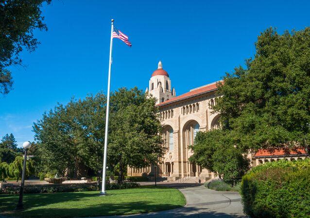 Budynek Uniwersytetu Stanforda w Kalifornii